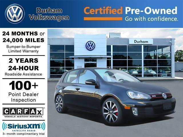 Certified Pre-Owned 2014 Volkswagen GTI Driver's Edition