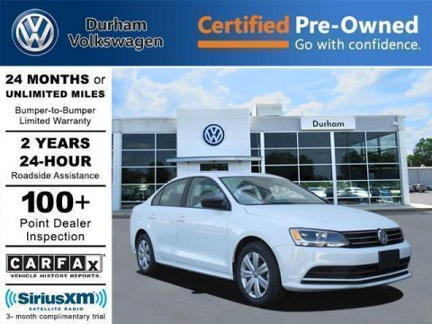 Certified Pre-Owned 2015 Volkswagen Jetta Sedan 2.0L TDI S